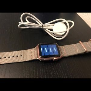 Apple Accessories - Apple Watch Series 1 (38mm) A1802 - RoseGold